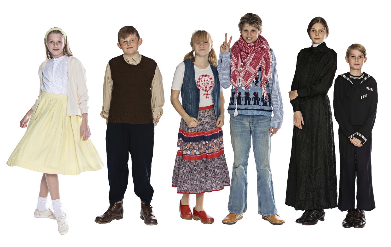 8587f2ed7c1 Mode i det 20. århundrede, tøj og beklædning i 1900-1990'erne