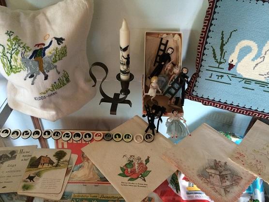 HCA Festivals, H. C. Andersen-samlinger, udstilling, museum