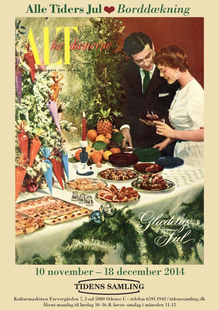 Udstillingplakat fra Tidens Samlings særudstillling 'Alle Tiders Jul