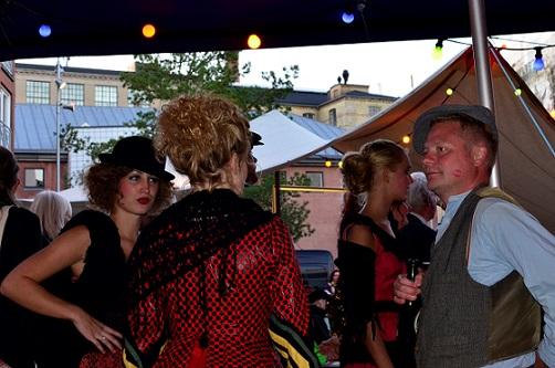 Kulturnat Odense 012, Farvergården, show, Tidens Samling, museum for klæder, form og bolig i det 20. århundrede, Odense