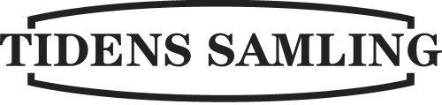 Logo for Tidens Samling, museum for klæder, form og bolig i det 20. århundrede, kulturinstitution i Odense C, Brandts Klædefabrik, Farvergården, Kulturmaskinen